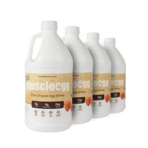 4 Half Gallons - Organic