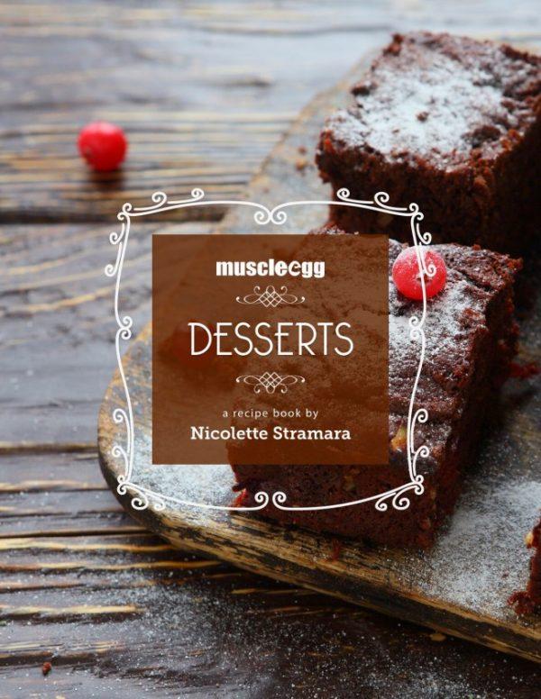 MuscleEgg Desserts - By Nicolette Stramara - Mini Ebook