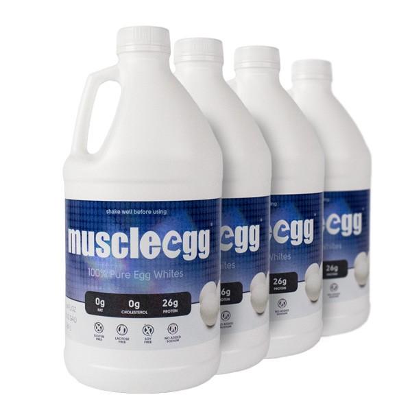 4 Half Gallons Original MuscleEgg