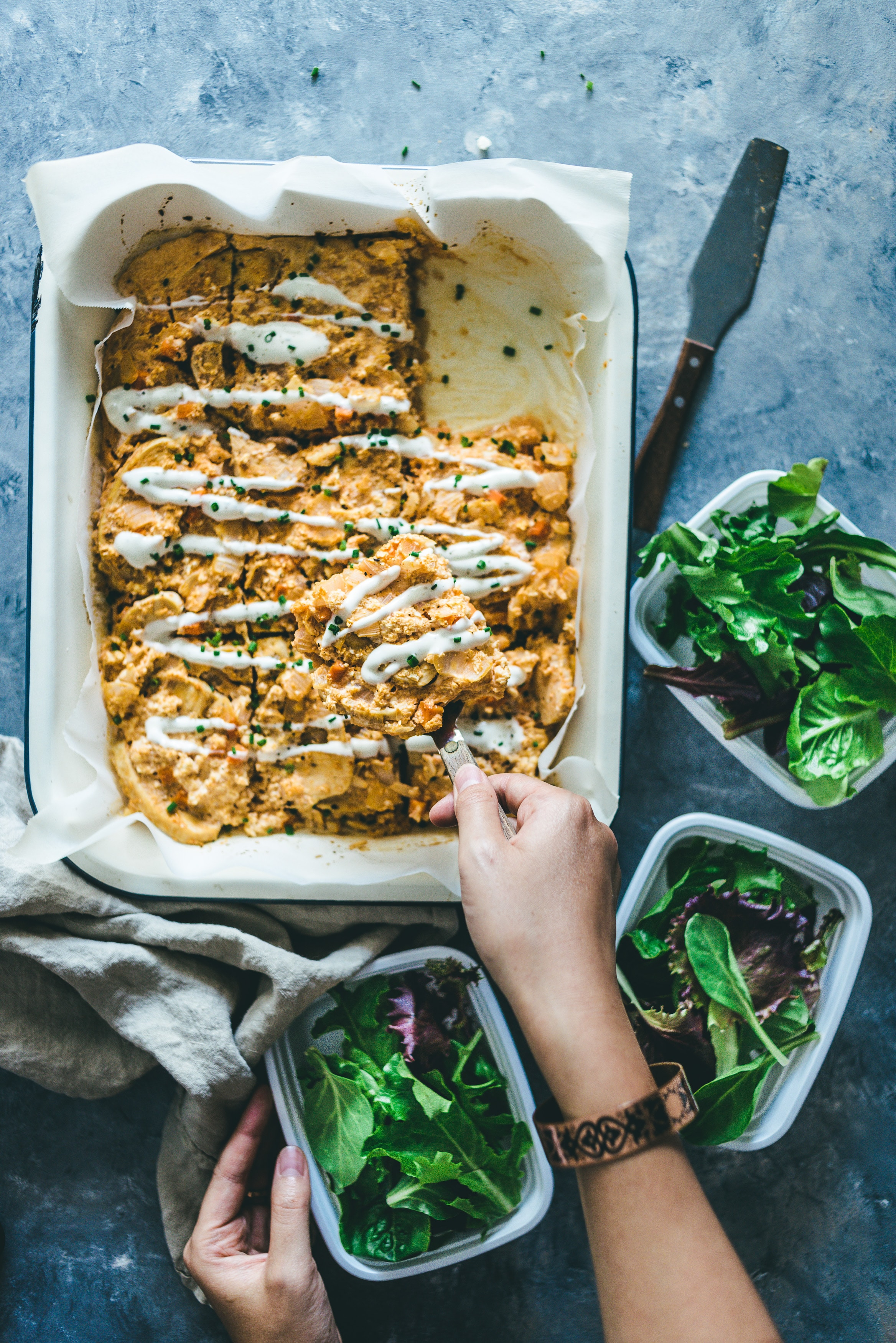 Whole 30 Buffalo Chicken Casserole