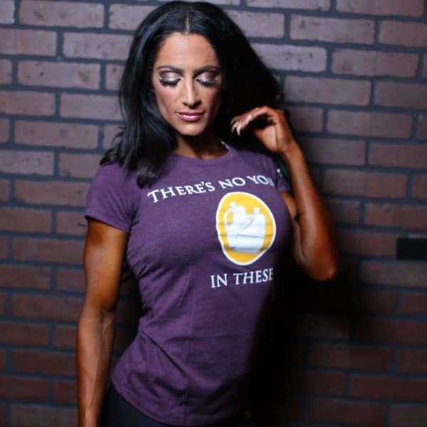 "Women's ""There's No Yolk In These Jugs"" T-Shirt"