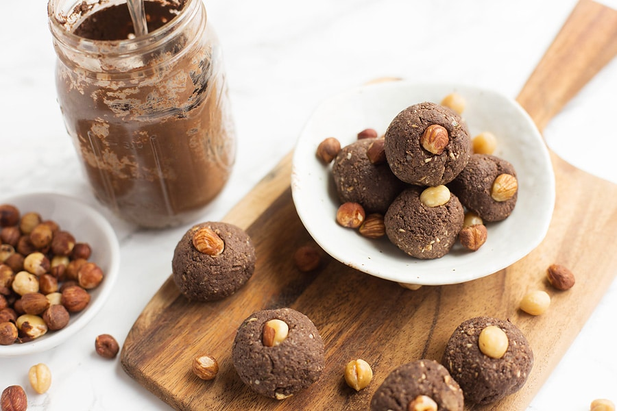 No-Bake Nutella Energy Bites