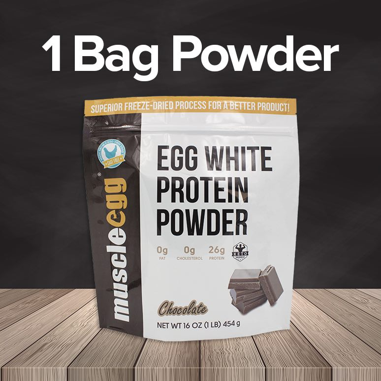 1 Bag of MuscleEgg Powder