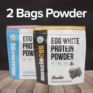 1 Bag MuscleEgg Protein Powder
