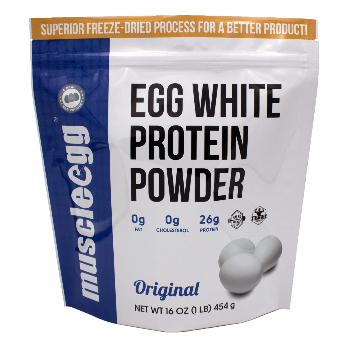 1 Bag Muscleegg Protein Powder