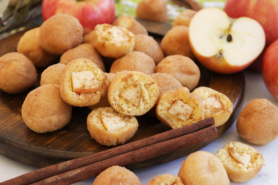 Apple Pie Donut Holes