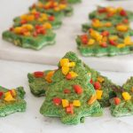 holiday spinach frittatas