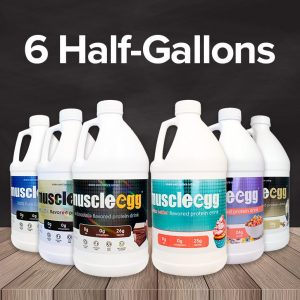 Mix and Match 6 Half Gallons