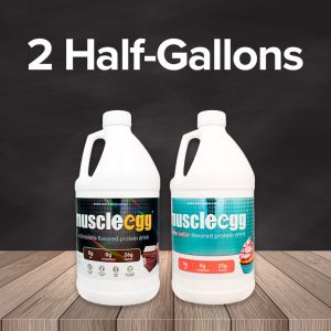 MuscleEgg Liquid 2 Half Gallons