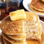 keto vanilla pancakes