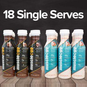 Autoship MuscleEgg Liquid 18 Single Serves