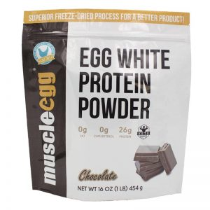 NEW!! Chocolate Egg White Protein Powder