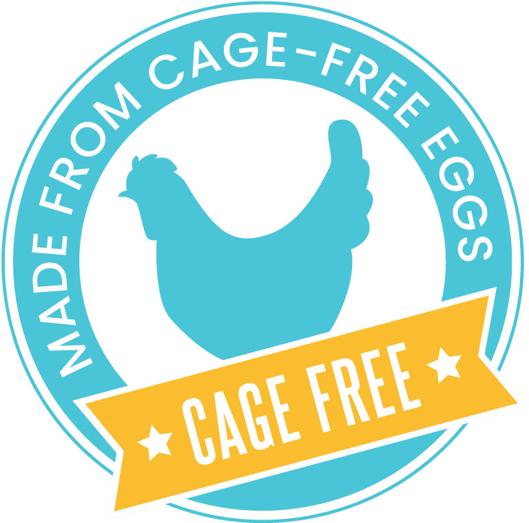 Made from Cage Free Eggs